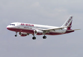 Air Berlin - ... and remained largely unchanged for more than two decades (the later version is shown here on an Airbus A320-200 in 2007).