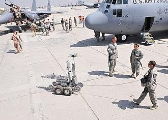 Bagram Airfield - Air Force's 62nd birthday in September 2009