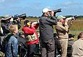 Aircraft spotters at Danish Airshow 2014-06-22 cropped.jpg