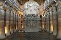Ajanta Caves, India, Ajanta chaitya (stupa) worship hall, Cave 26.jpg