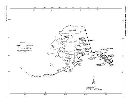 Alaska Counties