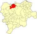 Albacete La Roda Mapa municipal.png