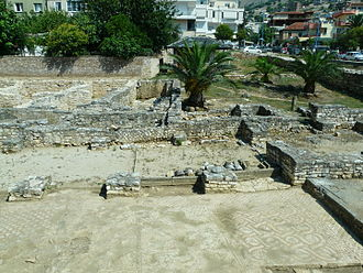 History of the Jews in Albania - Ruins of the ancient synagoge found in Saranda