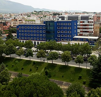 Albanian Police - Building of the Albanian State Police Headquarters in Tiranë