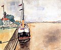 Albert Marquet, 1933 - Boat at Sulina, Romania.jpg