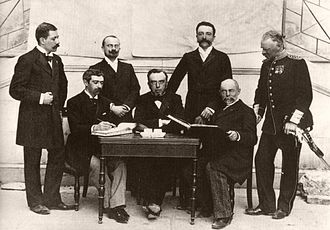 International Olympic Committee - The first IOC, at the 1896 Athens Games