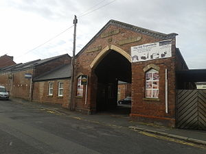 Listed buildings in Sheffield S8 - Image: Albert Road Tram Depot
