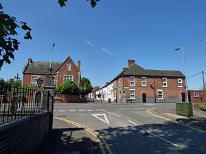 Rugeley - Image: Albion Street, Rugeley
