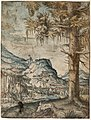 Albrecht Altdorfer - Big Spruce (hand-coloured) Albertina DG1926-1779.jpg
