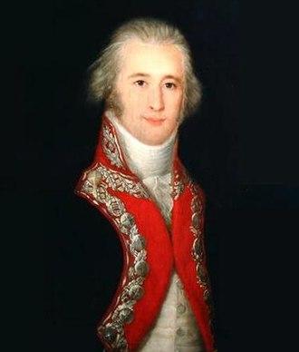 Invasion of Algiers (1775) - Portrait of Alejandro O'Reilly by Francisco de Goya.