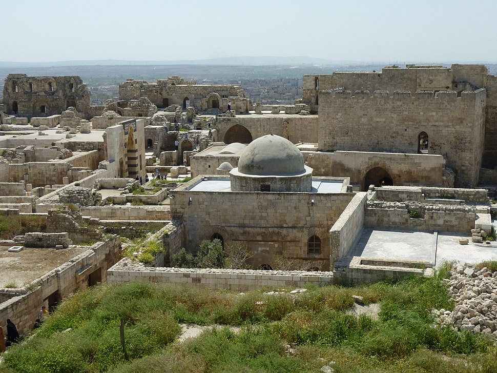 Aleppo Citadel 10 - Mosque of Abraham
