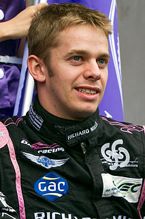 Alex Brundle British racing driver