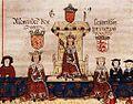 Alexander III,Llywelyn ab Gruffydd with Edward I.jpg