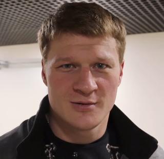 Alexander Povetkin Russian boxer