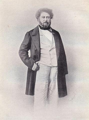 Дюма в 1860 году