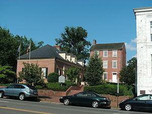 Alexandria Historic District - Image: Alexandria Academy