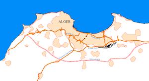 Carte Algerie Autoroute Est Ouest.Liste Des Autoroutes De L Algerie Wikipedia
