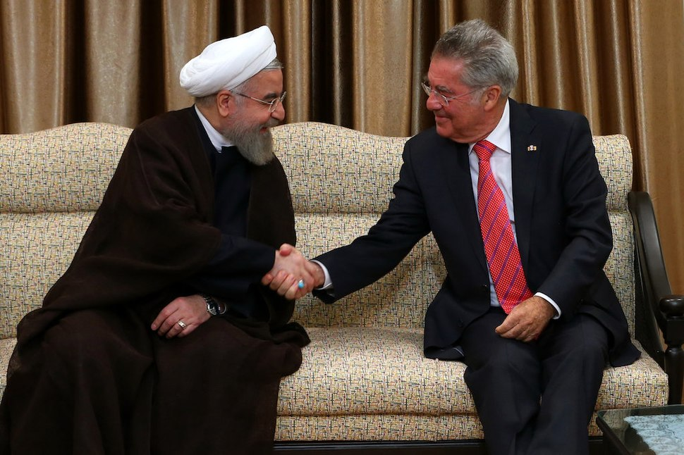 Ali Khamenei receives Heinz Fischer in his house (4)