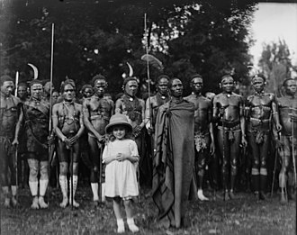 James Tiptree Jr. - Alice Sheldon with the Kikuyu people, 1920s