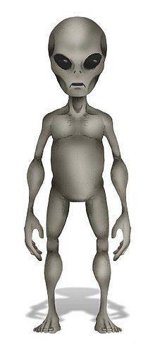 extraterrestre gris