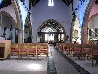 All Saints' Church, Otley - Interior