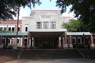 Alonzo A. Crim Open Campus High School - Image: Alonzo A. Crim Open Campus High School