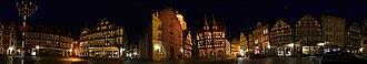 Vogelsbergkreis - Alsfeld by night