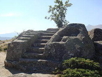 Vettones - Altar of sacrifices of Ulaca in Ávila (Castile and León, Spain)
