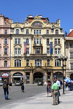 Ministry of Regional Development (Czech Republic) - Image: Altstädter Ring Ministerium Gesamt