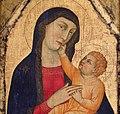 Ambito di lippo di benivieni, madonna col bambino, dalla chiesa di cerreto maggio, 02.jpg