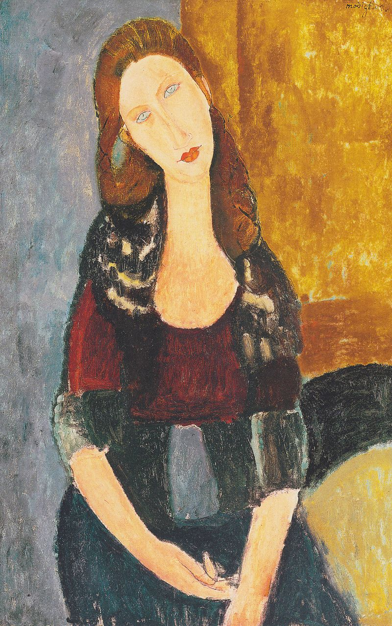 Amedeo Modigliani - Jeanne Hebuterne, sitzend.jpeg
