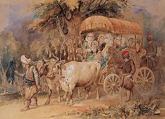 Amedeo Preziosi - Image: Amedeo Preziosi Arabian ox cart