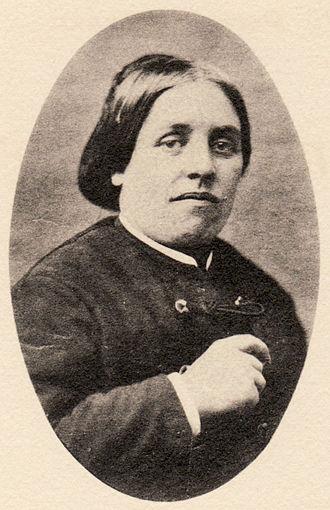 Amélie Gex - Amélie Gex, ca. 1875