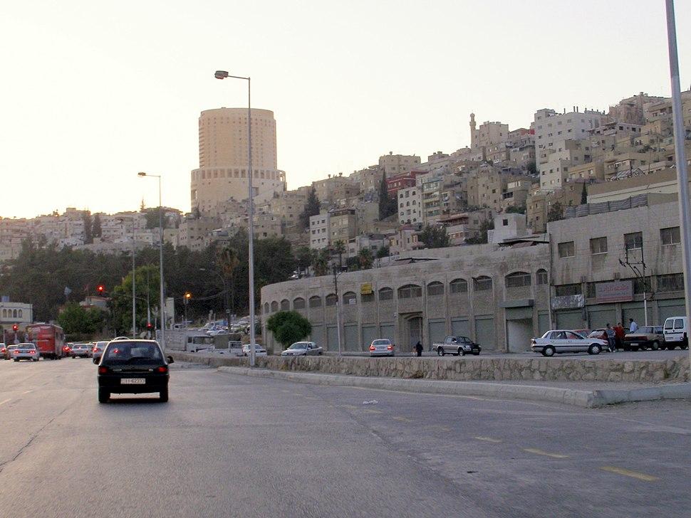 Amman West as seen from Amman East