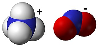 Ammonium nitrite chemical compound