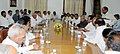 An All Party delegation from Karnataka led by the Chief Minister of Karnataka, Shri D.V. Sadananda Gowda with the Union Finance Minister, Shri Pranab Mukherjee, at the delegation level talks, in New Delhi on May 02, 2012.jpg