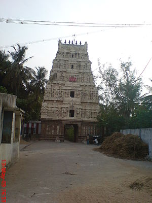 Anbil Sathyavaheesvarar temple - Image: Anbilanthurai 1