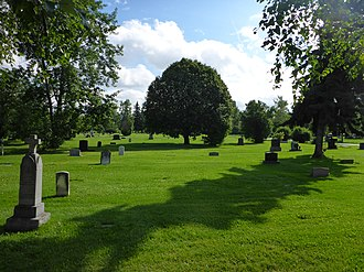 National Register of Historic Places listings in Anchorage, Alaska - Image: Anchorage Memorial Park Cemetery