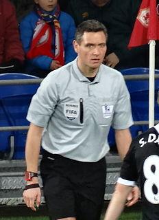 Andre Marriner English football referee
