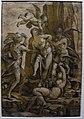 Andrea andreani da ligozzi, allegoria della virtù tormentata e salvata da amore, 1585 (bol. pinacoteca).jpg