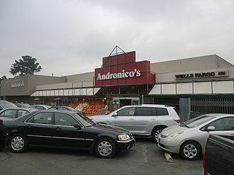 Andronico's - Andronico's store at Berkeley