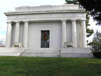 John Emory Andrus - The mausoleum of John Andrus