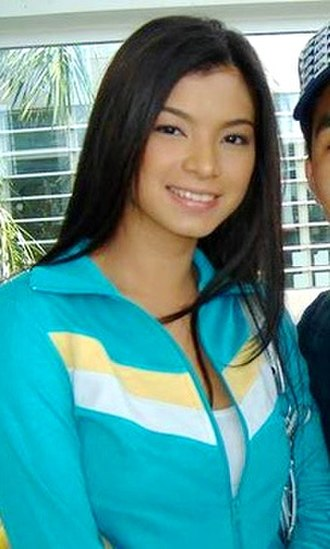 Angel Locsin - Locsin at the Manila International Airport in 2007.