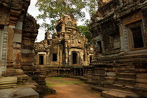 Angkor Chau Say Tevoda is a Hindu temple which...