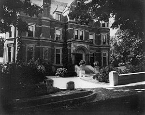Richard B. Angus - The Angus family house on Drummond Street in Montreal