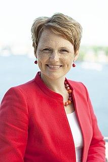 Anna-Karin Hatt Swedish politician