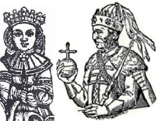 Anna of Cilli - Anna with Jogaila