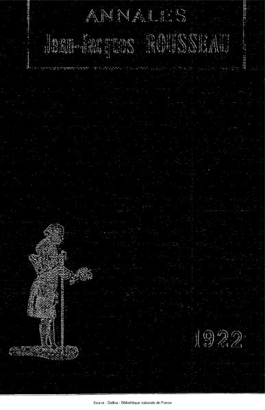 File:Annales de la société Jean-Jacques Rousseau, tome 14.djvu