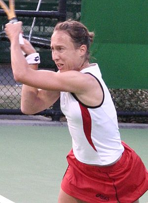 Anne Kremer - Image: Anne Kremer 2007 Australian Open R1
