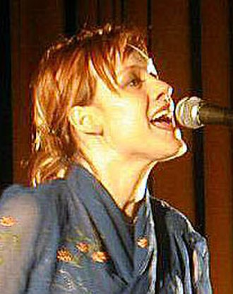 Anneli Drecker - Drecker in 2001.